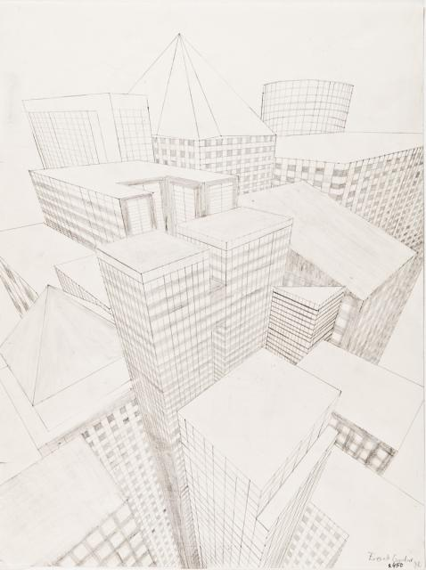 Grafik Gegenstandliche Zeichnung Geometrische Zeichnung Mit