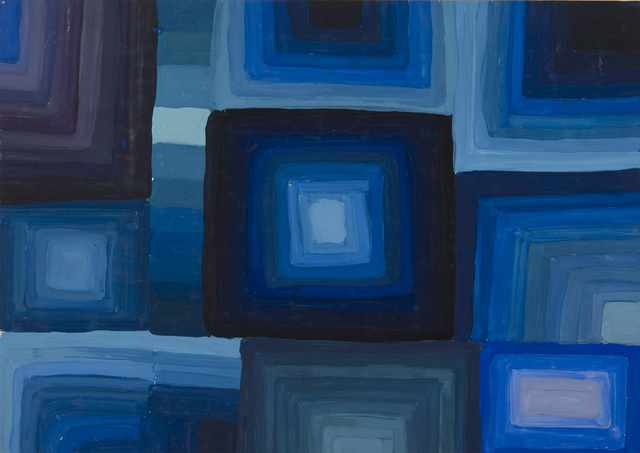 Raumwirkung Farbe malerei » kalt-warm » kalte farben » raumwirkung durch farbe