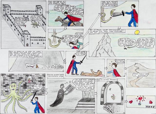 bildgeschichten bildergeschichte klasse 5 gymnasium klassenarbeit