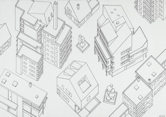 grafik gegenst ndliche zeichnung geometrische zeichnung mit lineal grundriss schr gbild. Black Bedroom Furniture Sets. Home Design Ideas