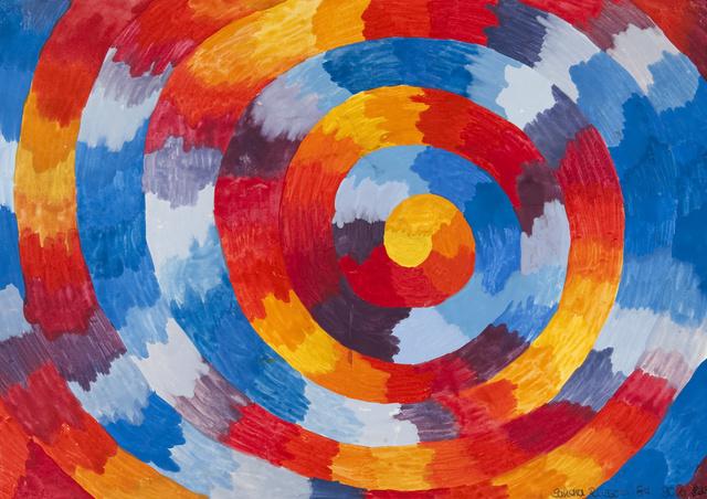 malerei kalt warm kalte und warme farben farbspirale schulkunst archiv baden w rttemberg. Black Bedroom Furniture Sets. Home Design Ideas